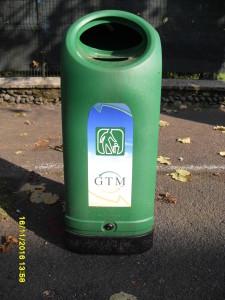 Cestino rifiuti gtm spa